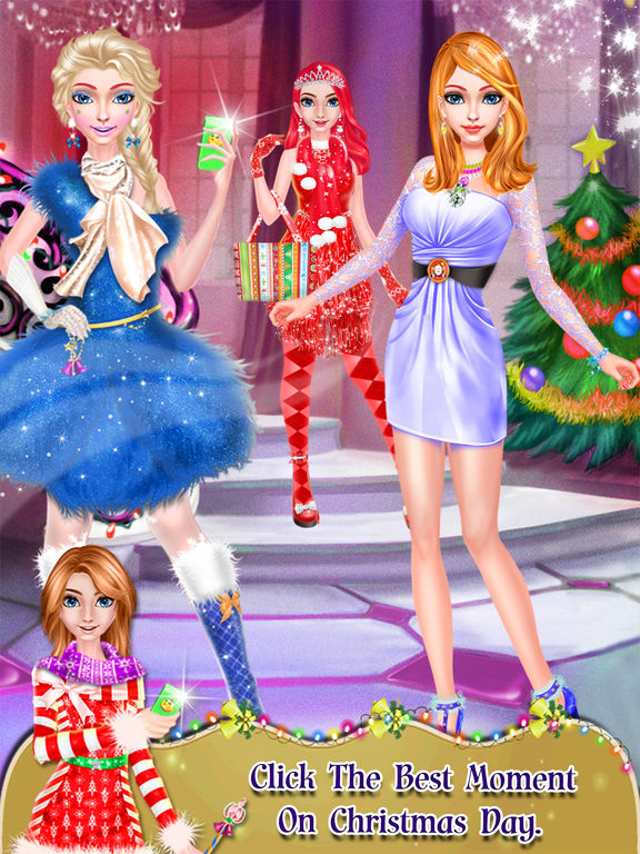 Christmas Girl Salon Makeover screenshot 10