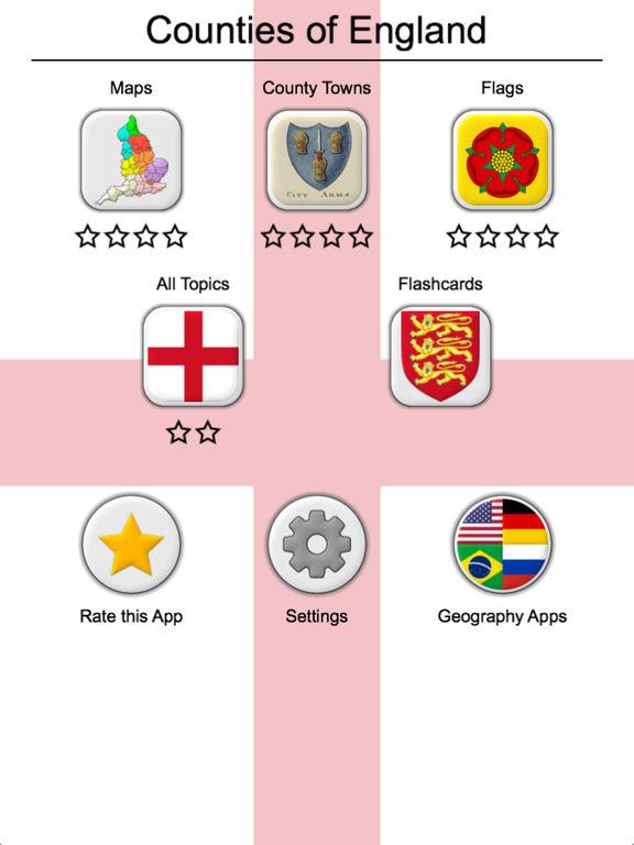 Counties of England Quiz screenshot 8