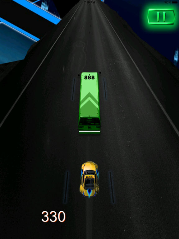A Crazy Parking - A Vegas Taxi Race screenshot 7