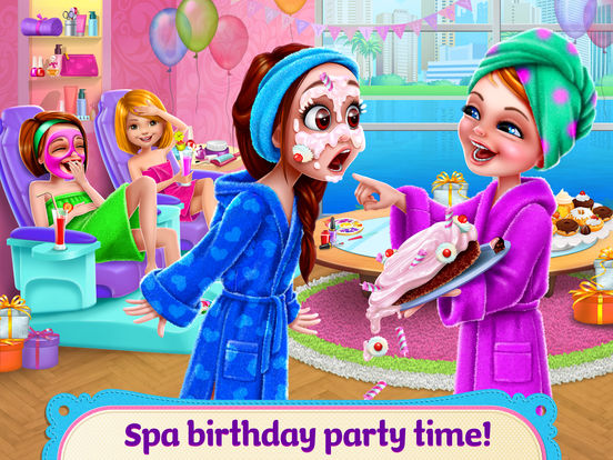 Spa Birthday Party! screenshot 6
