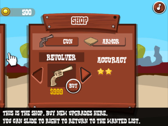 Wild West Shootout - Bandit Duel screenshot 10