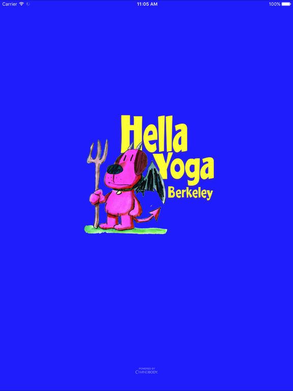 Hella Yoga Berkeley screenshot #1