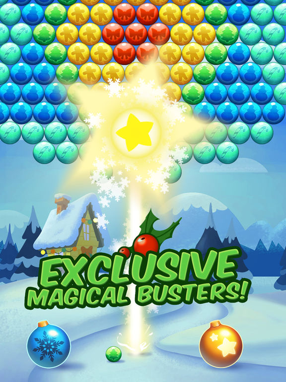 Christmas Cookie - Bubble Shooter screenshot 8