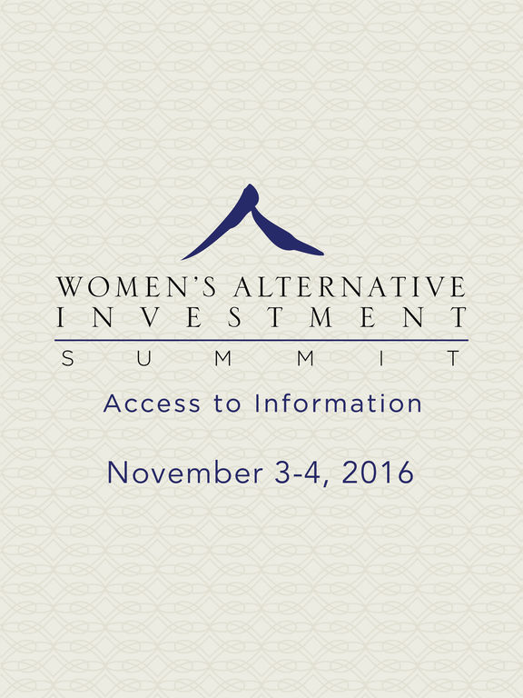 2016 Women's Alt Inv Summit screenshot 4