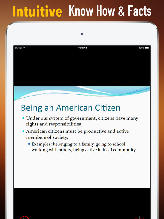 US Citizenship Test Study Guide|Glossary,Exam Prep screenshot 6