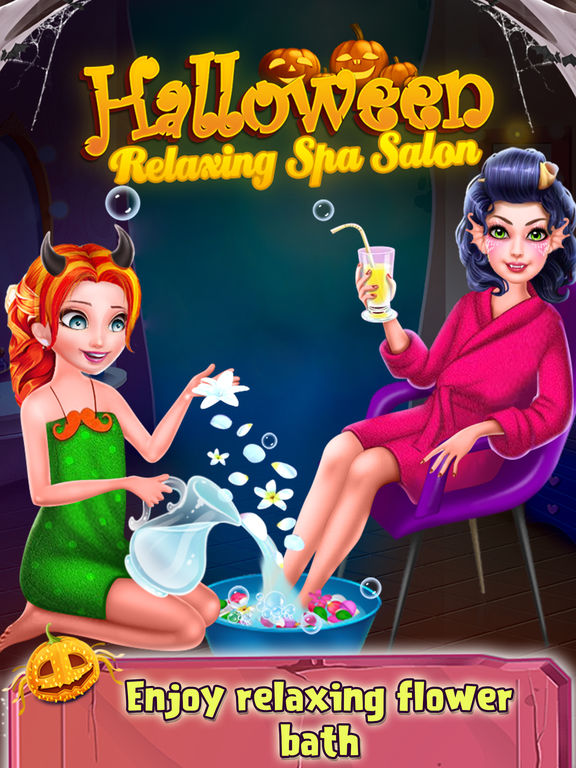 Halloween Relaxing Spa Salon screenshot 10
