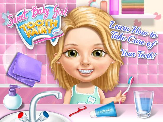 Sweet Baby Girl Tooth Fairy - No Ads screenshot 6