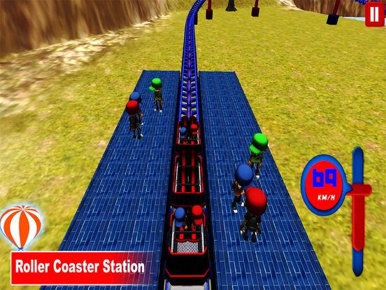 Desert Tycoon Roller Coaster : 3D Lake simulation screenshot 6