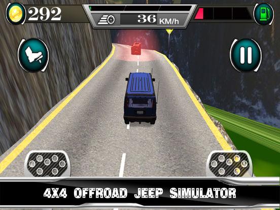 Off-Road Up-Hill Climb Jeep Simulator : 3D Drive screenshot 4