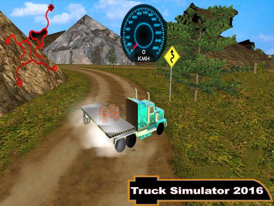 Euro Off-Road Trailer : Heavy Hill Climb-er Cargo screenshot 5