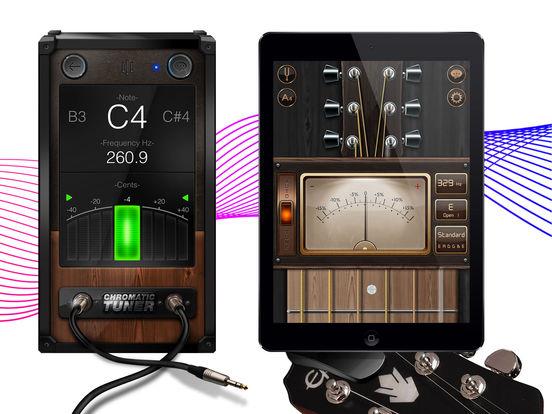 Chromatic Guitar Tuner - Ukulele, Guitar, Bass screenshot 5