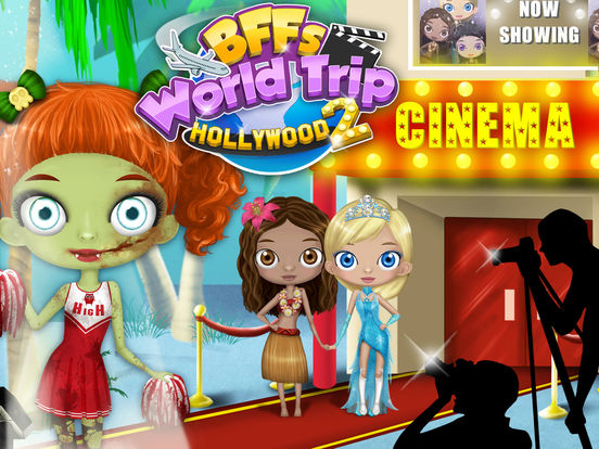 BFF World Trip Hollywood 2 - Movie Star Makeover screenshot 6
