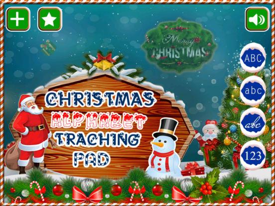 Alphabet Tracing Cursive & Numbers Christmas Game screenshot 5