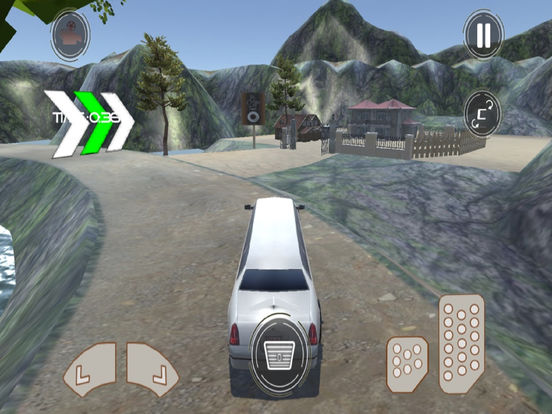 Off-Road Limousine Simulation : Crazy ride on hill screenshot 6