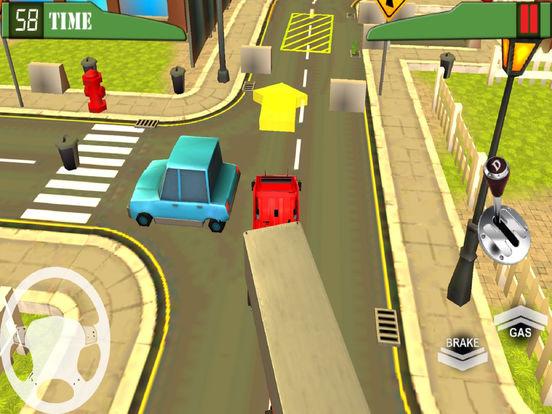Heavy Vehicle Transport : Trail-er Truck Park-ing screenshot 5