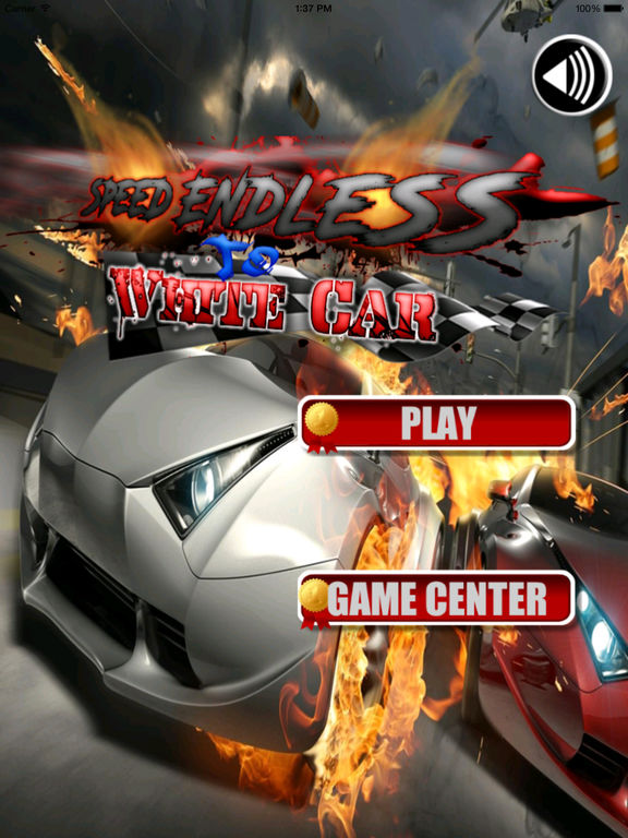 A Speed Endless To White Car - A Hypnotic Game Of Driving screenshot 6