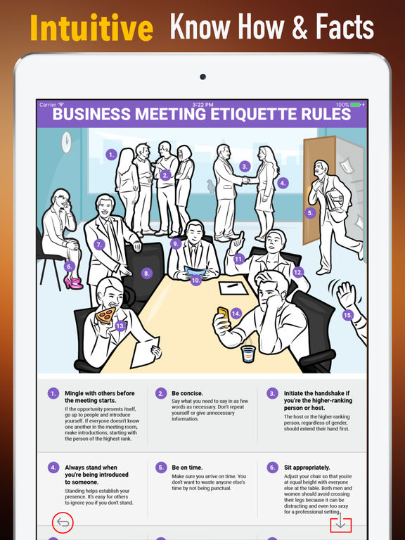 Meeting Etiquette Rules-Learning Guide and Tips screenshot 5