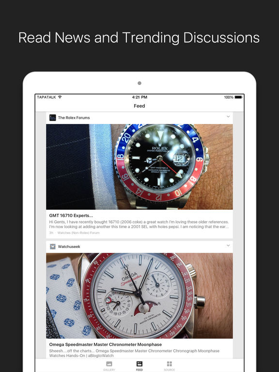 Watch News & Photo App- for Rolex, IWC, TAG & more screenshot 6