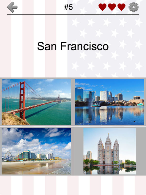 US Cities and State Capitol Buildings Quiz screenshot 9