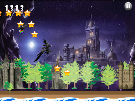 A Dark Wizard Jump Pro - Magic With Air Race screenshot 7