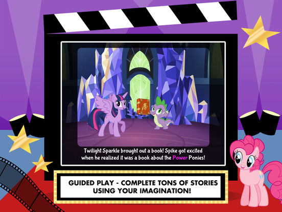 My Little Pony: Lights, Camera, Ponies! screenshot 9