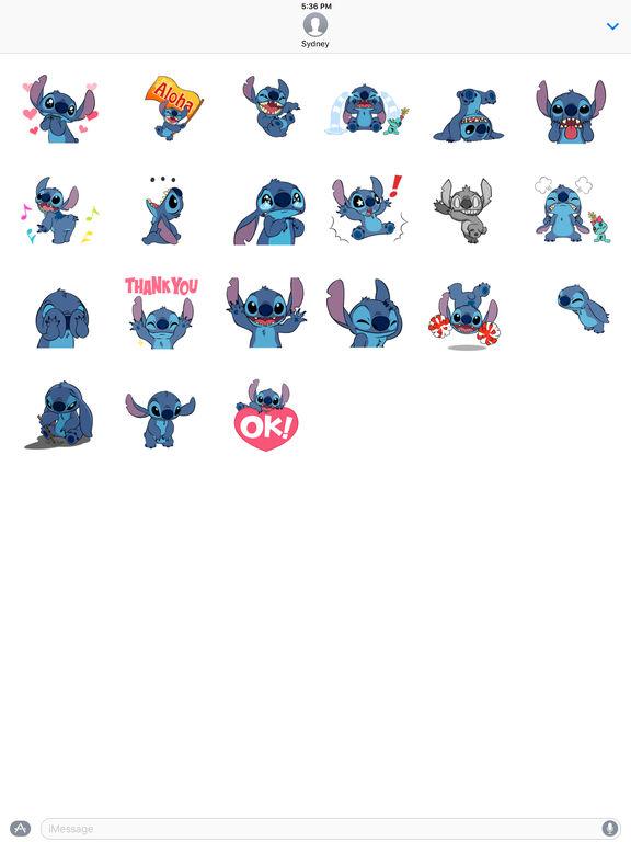 Disney Stickers: Stitch screenshot 6