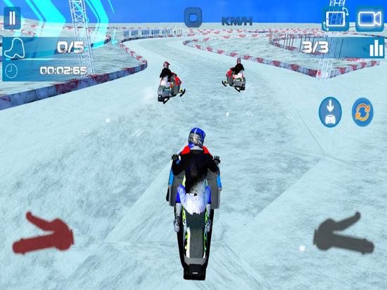 Snow Bike Rider : Racing Fever screenshot 4