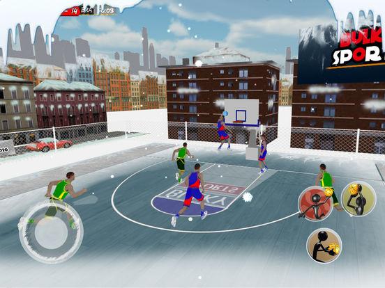 Basketball 2017 - Xmas Holidays slam dunks Mobile screenshot 9