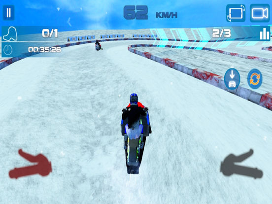 Real Snow Drifting Cart : Charistmas Special Ride screenshot 5