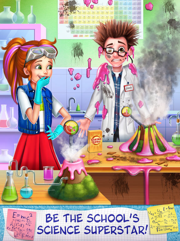 Science Girl Super Star screenshot 6