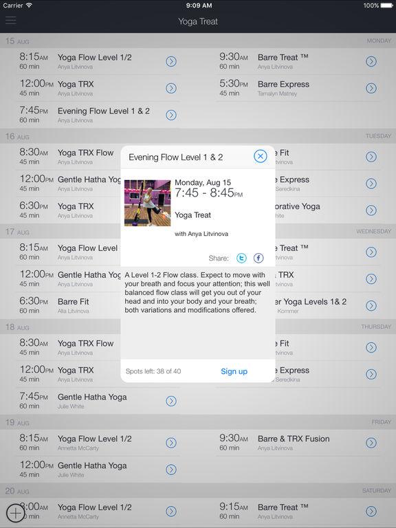 Yoga Treat screenshot 4