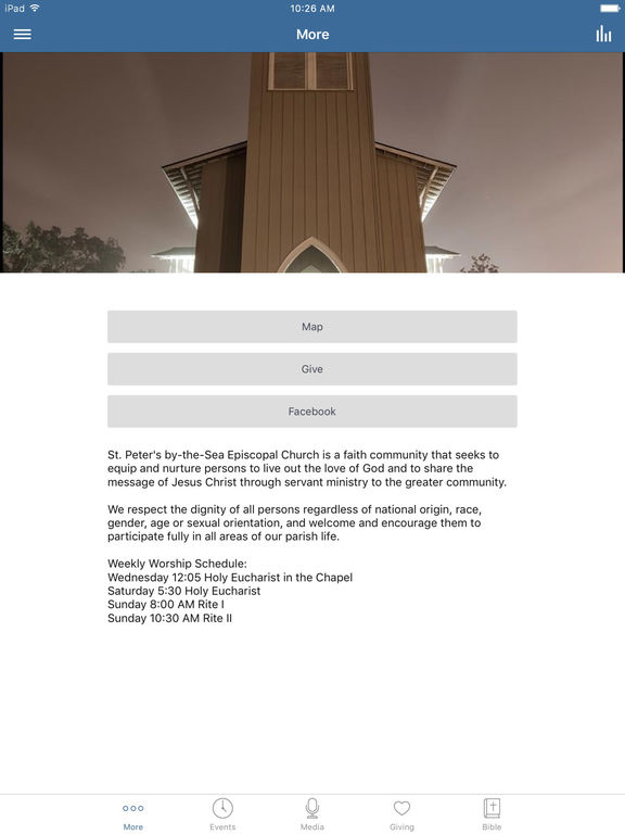 St. Peters by-the-Sea Gulfport screenshot 4