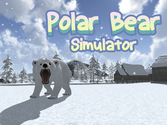 Wild White Polar Bear Simulator screenshot 5