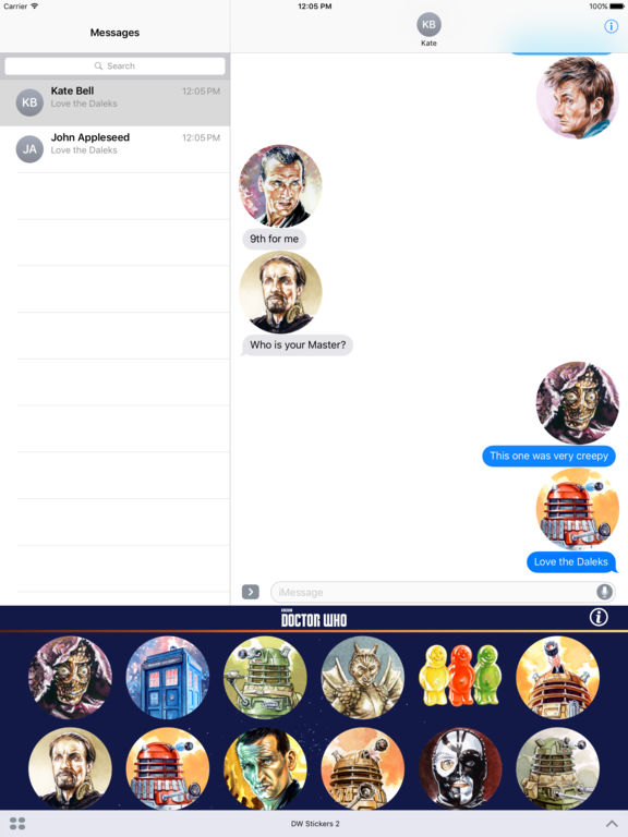Doctor Who Stickers Pack 2 screenshot 7