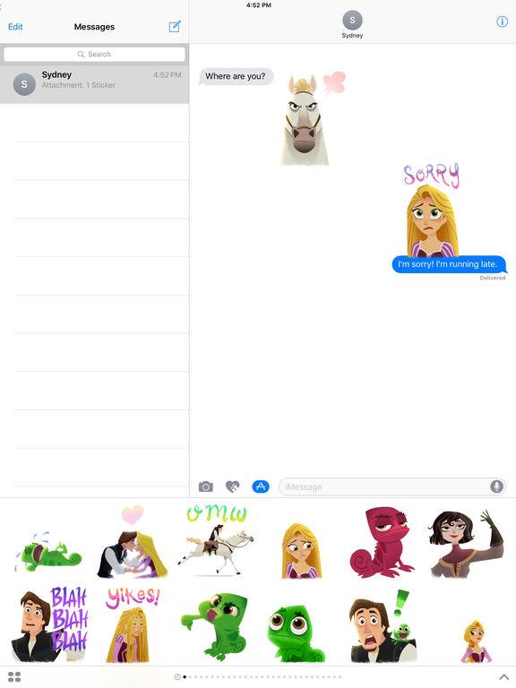Disney Stickers: Tangled screenshot 8
