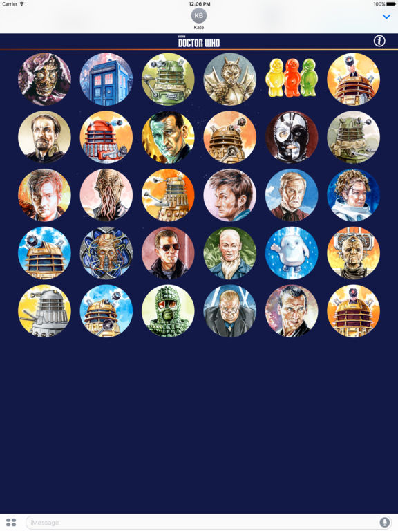 Doctor Who Stickers Pack 2 screenshot 5