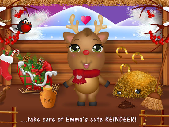 Sweet Little Emma Winterland 2 - No Ads screenshot 6