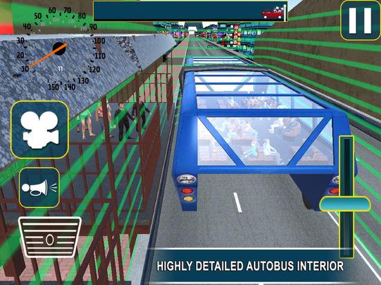 Super Elevated Bus : City Public Travelling Drive screenshot 4