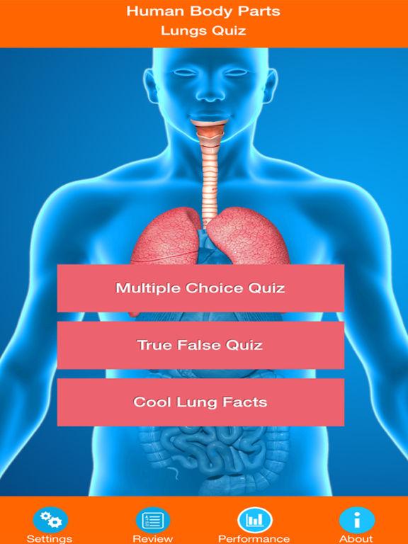 Human Body Parts : Lungs Quiz screenshot 6
