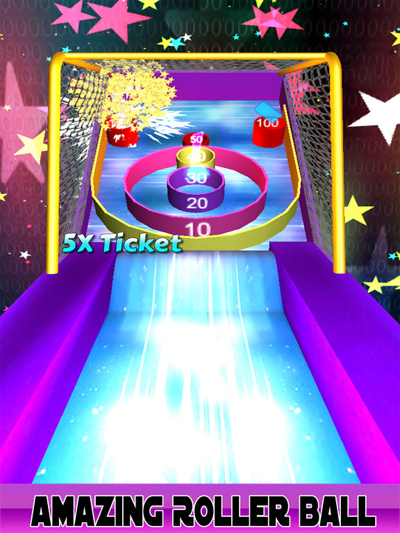 3D Flick Roller Ball Skee Arcade 2017 screenshot 5
