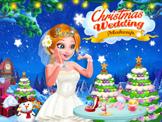 Christmas Wedding Makeup screenshot 6