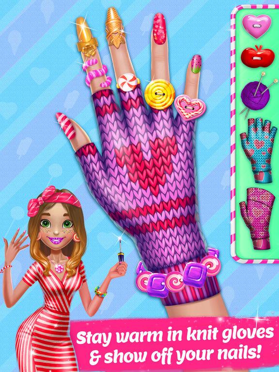 Candy Nail Art - Sweet Spa Fashion Game screenshot 10